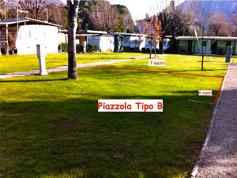 Campo Tende - Piazzola tipo B
